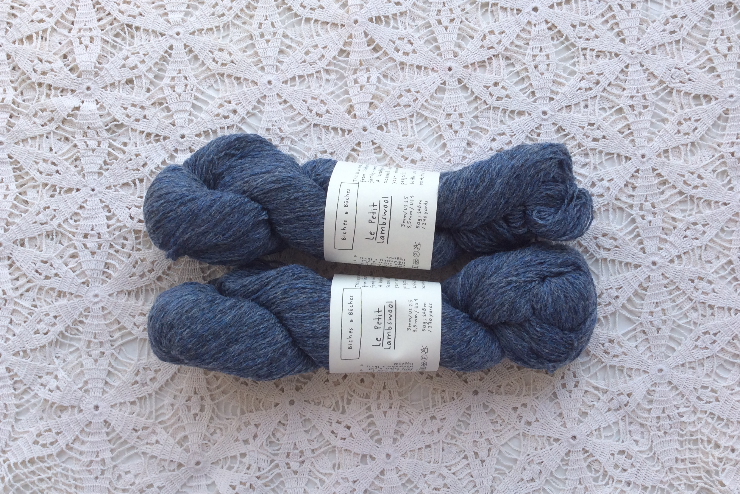 Le Petit Lambswool 17 Blue Grey