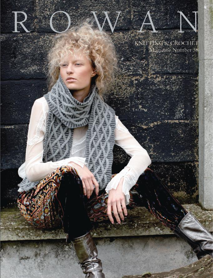 Rowan Knitting & Crochet Magazine 58