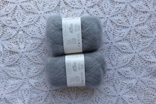 Le Petit Silk & Mohair Light Grey
