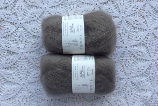 Le Petit Silk & Mohair Grey Brown