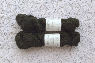 Le Petit Lambswool 19 Dark Green Grey