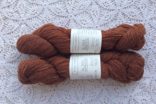 Le Petit Lambswool 22 Red Brown